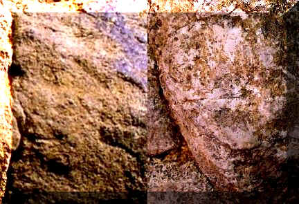 Human Face Images - Artifacts from Day's Knob Archaeological Site