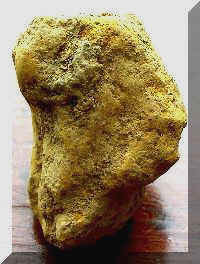 Figure in Yellow Ochre - Day's Knob Archaeological Site